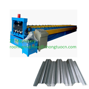 Galvanized steel floor deck panel roll forming machine
