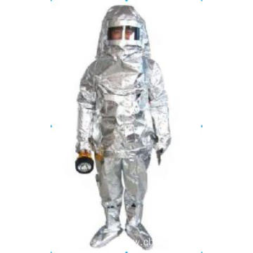 Aluminized Firemans outfit for fire fighter suit