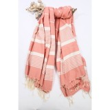 High Quality Stripped Design Custom Made 100%Cottom Tunisian Fouta Towels