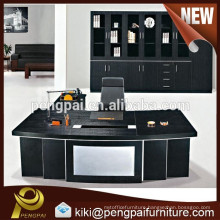 Luxury black office table for manager