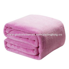 High quality knitted blankets, available in various colors, OEM orders are welcome