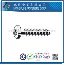 Fabricante en Taiwán Ventas calientes Tornillo de acero inoxidable que forma los tornillos