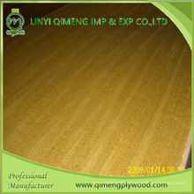 Good Color and Grain AAA Grade Teak Plywood From Linyi