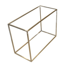 8mm Stainless Square Bar Shoes Display Stand