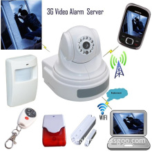 3G Video Alarm Server,Security alarm system,wireless WIFI Cameras,video surveillance and alarm monitoring,security surveillance