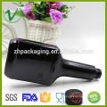 PET SGS одобрил рекламную многоразовую плоскую черную пустую бутылку с присадкой из пластика с винтовой крышкой