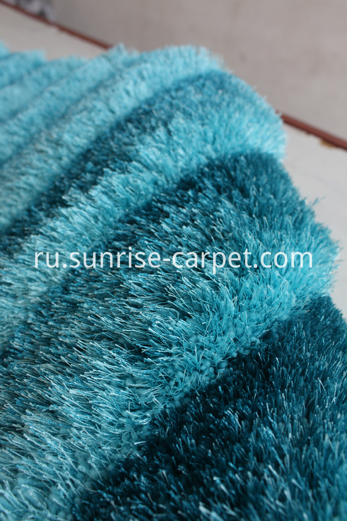 Polyester two yarn mix 3D Shaggy Rug