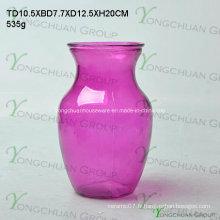 Vases en verre à la forme ronde / Vases en verre bon marché / Vases de promotion