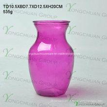 Vasos de vidro de forma redonda / vasos de vidro baratos / vasos de promoção