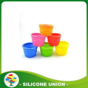Colourful Foldable Silicone Pet Bowls