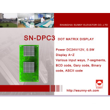 Inch Display for Elevator (SN-DPC3)