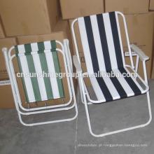 Foldable piquenique cadeira/praia/cadeira ao ar livre mobiliário