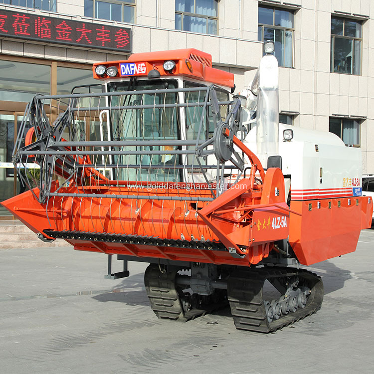 Reliable multi-function rice harvesting equipment HST