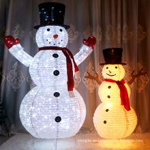 Led Christmas Festival Snowman para decoración navideña