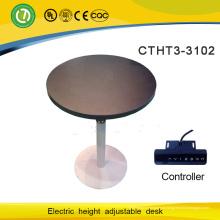 mesa de elevação inteligente por mesas de conferência elétrica de um pé