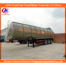 API 40cbm Fuel Tank Semi-Trailer for 30ton Diesel Transport Tanker