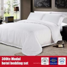 Modal 300TC Modal Hotel marca folhas conjunto de cama