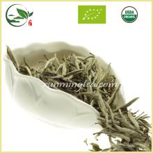 Thé blanc à l'aiguille Bai Hao Yin Zhen en argent