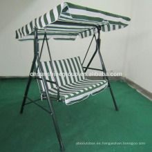 Deluxe oxford air double seat living room swing chair XY-175
