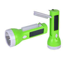 Dual-Functional Rechargeable Solar LED Torch