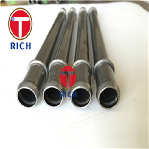 JIS G3445 STKM11A STKM13A ERW Welded Carbon Steel Tube For Auto Exhaust System