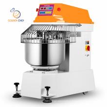 Golden Chef heavy duty flour making machine brazil standard 130l electric spiral dough mixer 50kg flour dough mixer