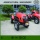 2017 New Design 4WD 90HP Wheeled Farm Tractor With Cab