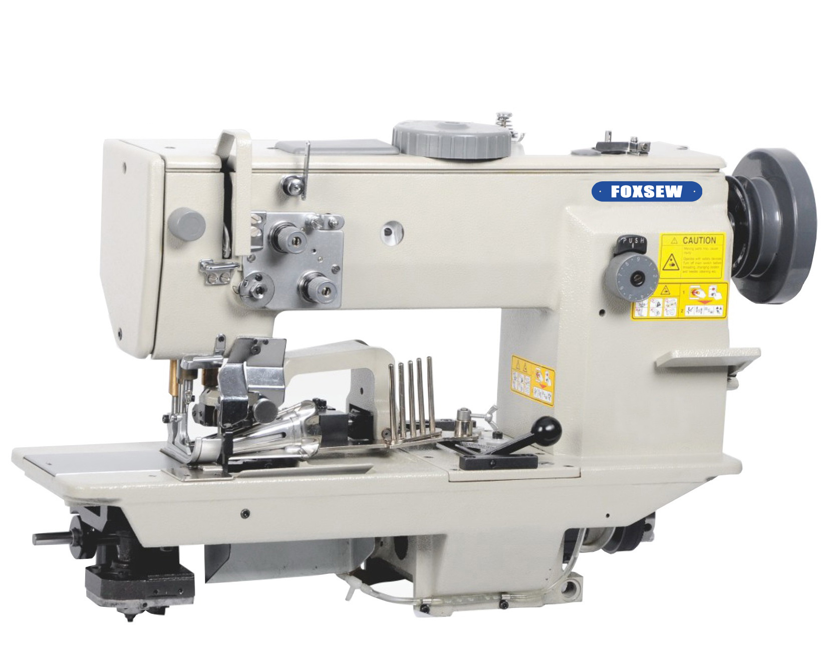 FX7677-AE Heavy Duty Automatic Cutting and Tape Binding Sewing Machine