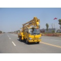 Mobile Japanese ISUZU hydraulics bucket boom lift truck