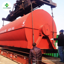 10kg to 25T Dirty Waste Used Oil Refinery Distillation Plant To Diesel