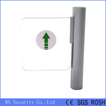 High Speed Turnstile Supermaket Glass Swing Gate