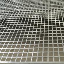 Aluminium Square Hole Perforated Metal Sheet