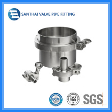 Sanitary Ss304 SMS DIN Clamp Union for Pipe Fittings