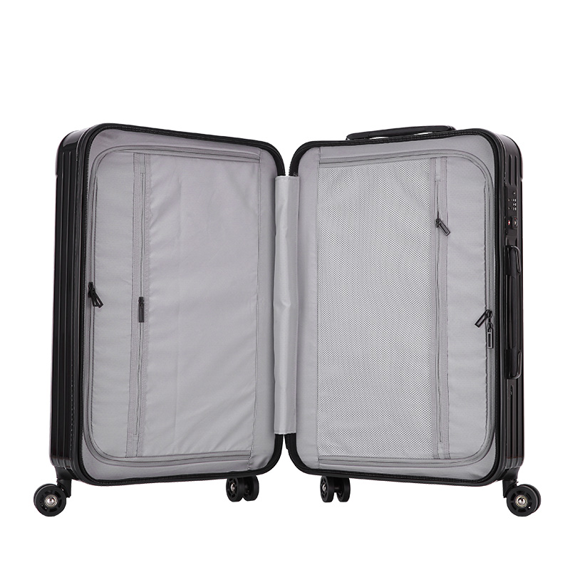Huge capatity hardcase abs pc material luggage 6