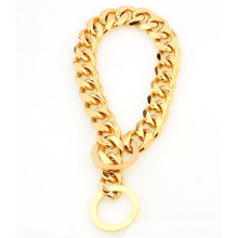 2018 Gold Plating Dog Chain Dog Collars Stainless Steel Dog Necklace