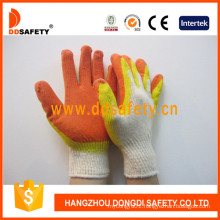 Cotton Latex Safety Protecitve Working Glove Dkl319