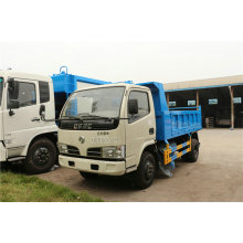 4CBM Dongfeng Barrel Collection Garbage Truck Euro 4