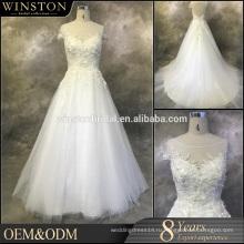 Оптовая новый дизайн дешевые свадебные платья