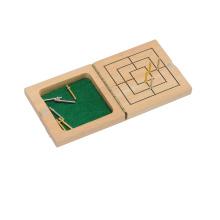 Juego de madera del juego del laberinto (CB1171-1)