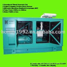 AC Soundproof 3phase generador diesel conjunto 120KW 150KVA