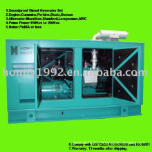 AC Soundproof 3phase Diesel Generator set 120KW 150KVA