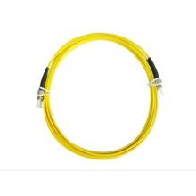 Cordão de remendo da fibra óptica ST ao cabo de remendo do PC do ST UPC ST SM 0.9mm cabo da fibra ótica de 2.0mm