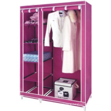 New design canvas wardrobe, clothes storage cabinet
