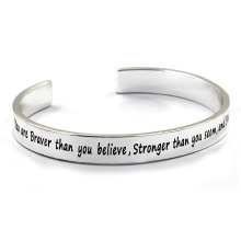 Stainless Steel Customerized Bangle Braclelet Imitation Jewelry