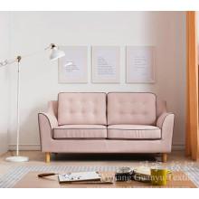 Cubierta de sofá de textiles para el hogar 100% poliéster Linenette Fabric
