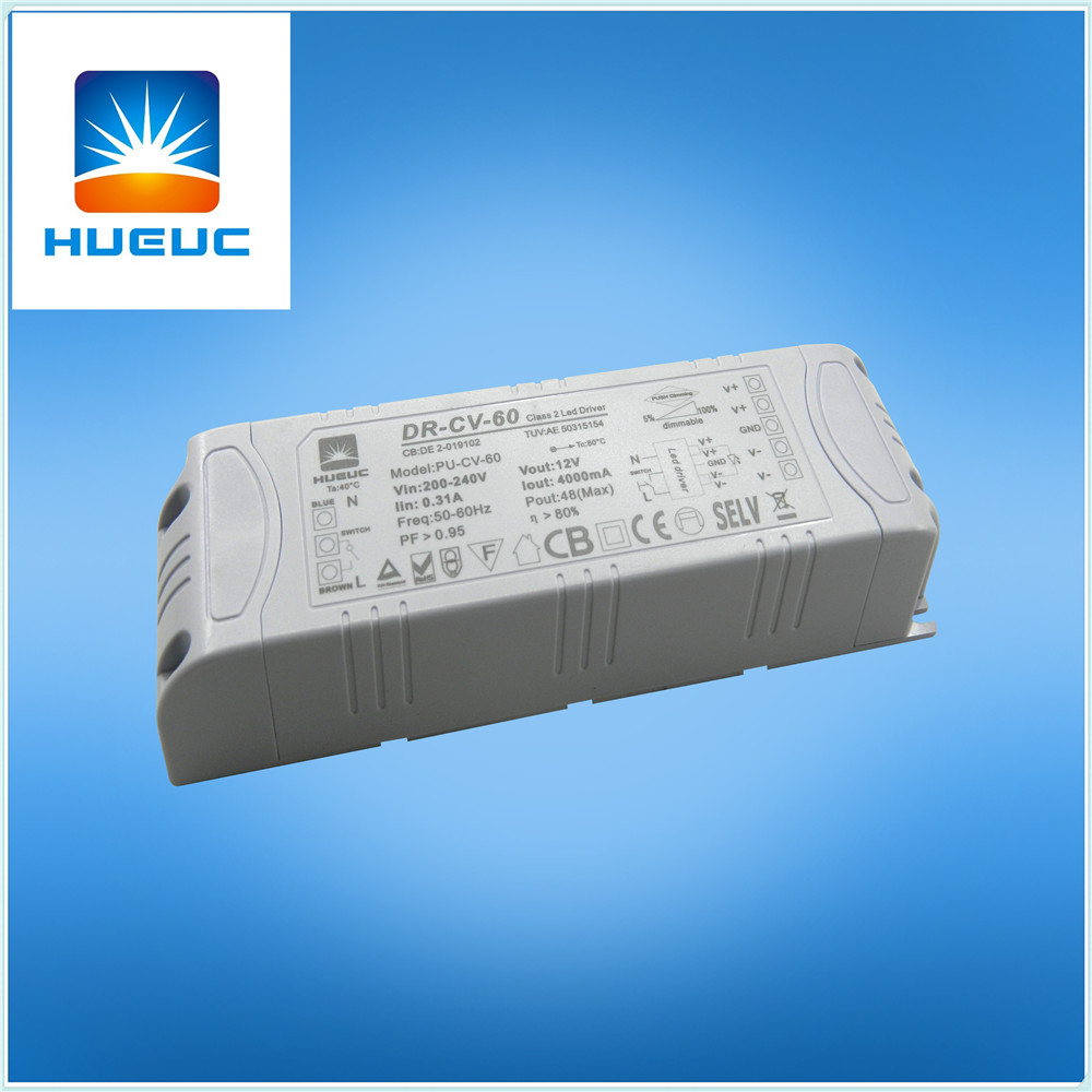 60w switching power supply waterproof led driver