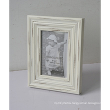 Wood-Like Plastic Frame for Home Decoration
