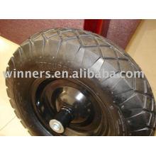 rueda de goma de aire