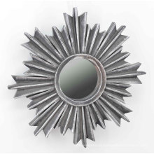 Floco de neve Shape Injection Mirror para Wall Deco