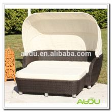 Audu Seaside Hotel Rattan Antique Canopy Bed